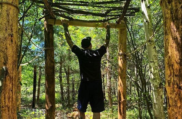 Building a Rustic Hidden Garden Trail